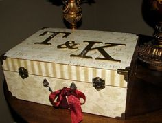 Thinking of making this memory box for our cards and smaller keepsakes from our wedding.