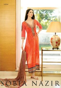 Sobia Nazir Spring / Summer lawn  Collection 2013