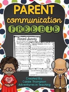 Parent Communication- FREEBIE
