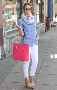 A pair of Gap jeans as featured on the blog Penny Pincher Fashion.