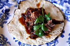 Brisket braised with ancho and chipotle chilies | Goldilocks Finds Manhattan