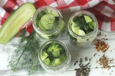 This Easy Homemade Refrigerator Dill Pickles recipe packs a lot of crunch and zesty flavor. This is a super easy canning recipe because there is no canning involved in making this refrigerator pickle recipe. This recipe is a great way to use those cucumbers you just picked from your garden or bought at your farmers' market. These refrigerator pickles are cucumbers that are pickled in a homemade brine with garlic, dill and spices. Pickling Cucumbers, Easy Canning, Canning Recipes, Apple Cider Vinegar Water, Refrigerator Pickle Recipes, Garlic Dill Pickles, Kirby Cucumber, Pickles Recipe