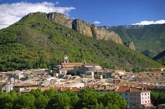Digne-Les-Bains Panorama, Southern French Alps