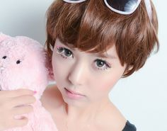 Royal Vision Love Color Gray - EyeCandy's Shop now ~ www.eyecandys.com Authentic Korean circle lenses, circle lens, colored contacts, color contact lens, big eyes, cosmetic contact lenses, korean makeup, ulzzang, gyaru, coloured contacts, colour contacts, colour lens.  #circlelenses, #circlelens, #coloredcontacts, #colorcontacts, #colorlens, #gyaru, #ulzzang, #bigeyes #prettyeyes, #koreanstyle, #eyes, #makeup, #koreanbeauty, #makeup, #asian, #asiangirl, #contacts, #contactlens, #eyecandys