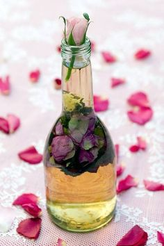 Rose vinegar.