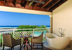 Grand Luxury Butler Palatial Suite with Balcony Tranquility Soaking Tub. | Sandals Resorts | Jamaica