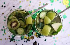 Skinny St. Patrick's Day Sangria | Molly Sims