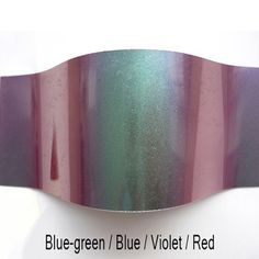 Colour Shifting Pigments - Blue-Green/Blue/Violet/Red