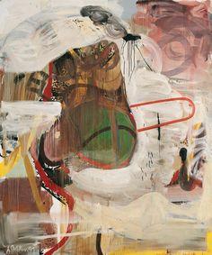 Albert Oehlen, Untitled, 1991