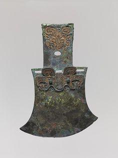 Ax: Shang dynasty (ca. 1600–1046 B.C.)