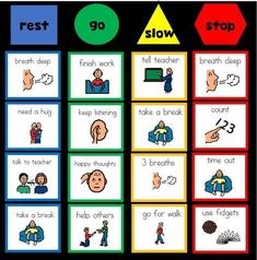 these self regulation tools are great for kids with autism special ed and behaviour management Classroom Behavior Management, Behaviour Management, Behavior Bulletin Boards, Emotional Regulation, Self Regulation, Autism Classroom, Special Education Classroom, Coping Skills, Social Skills