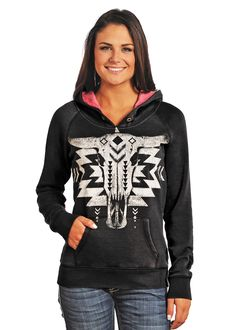 Rock & Roll Cowgirl Hoodie 48H4243 bought it
