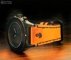 Topouzelli Straps : Leather watch strap. Handmade. T 884