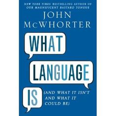 Listening to the author on NPR now...sounds like an interesting read.   I want to be a linguist!
