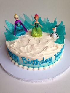 Frozen cake by Rue De Lis Desserts