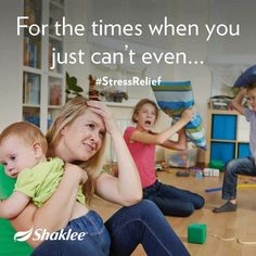 For the times when you just can't even..... Consider Shaklee Stress Relief Complex (SRC). It's a natural stress relief you can safely take every day. I do!