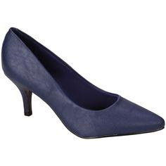 #Scarpin Vizzano Azul #Shoes #Blue