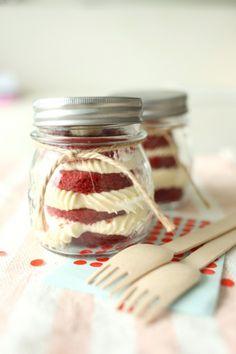 Red Velvet in a Jar by Grace