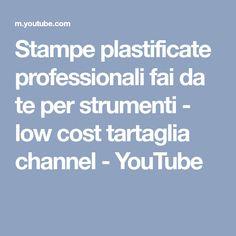 Stampe plastificate professionali fai da te per strumenti - low cost tartaglia channel - YouTube