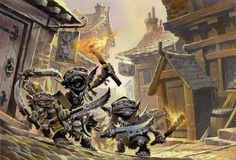 Another from Pathfinder.  This is one of my favorite depiction of goblins.