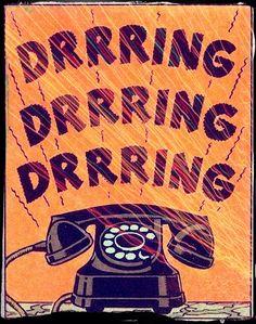 DRRRING...DRRRING...DRRRING... #telefone #telephone
