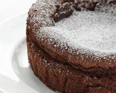 Gâteau allégé au chocolat spécial Cookeo