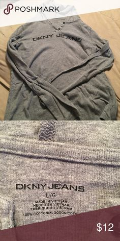 DKNY hooded shirt Women's sweatshirt Dkny Tops Sweatshirts & Hoodies