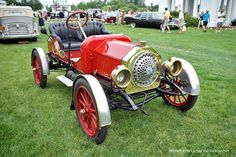 1907 Buick Model Model 10 The story was the car was purchased new by the owner of a railroad Co. He had his shop make the grille, fenders, and floor panel to look like a locomotive. They were all cast aluminum.