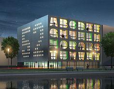 Glasfassade bunt  bunte büros | Fassade | Pinterest | Büros, Bunt und Fassaden
