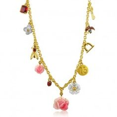 Les Nereides 'Belle Saison' charm necklace £115.00