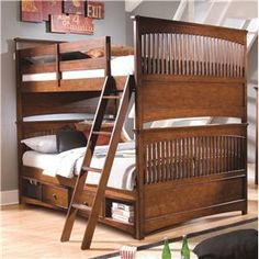 Lea Industries Elite - Crossover Full-Over-Full Storage Bunk Bed - 826-986+973+076