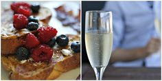 perfect champagne breakfast Champagne Breakfast, Drink Me, Bride Dresses, Mother Of The Bride, Cravings, Brunch, Bucket, Tasty, Food