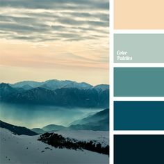 We suggest you use this color palette for an indoor pool or Turkish baths..