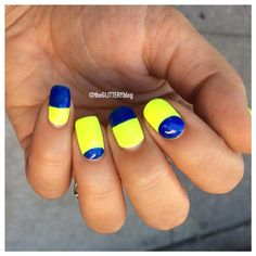 Neon Nail Art From Instagram | Beauty High
