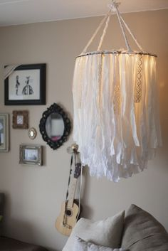 Take advantage of the darkened evenings and DIY yourself one of these lovely, illuminating chandeliers... if you can choose just one.