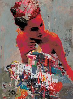 "Saatchi Online Artist: Hossam Dirar; Paint 2013 Painting ""At Night - SOLD"""