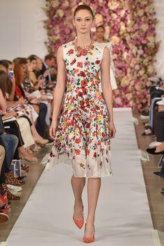 Oscar de la Renta Spring 2015 Ready-to-Wear - Collection - Gallery - Look 1 - Style.com