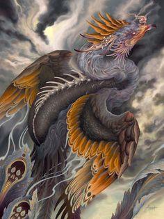 Phoenix Design, Phoenix Tattoo Design, Forearm Tattoo Design, Japanese Phoenix Tattoo, Japanese Tattoo Art, Dragon Tattoo Full Back, Fenix Tattoos, Japanese Artwork, Asian Tattoos