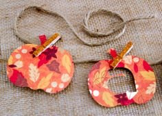 Cricut Crafts: Fall Banner With Pumpkins Paper Crafts Fall Crafts, Arts And Crafts Projects, Holiday Crafts, Diy Paper, Paper Crafts, Fall Banner, Preschool Crafts, Crafts For Kids, Handmade Crafts