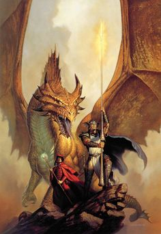 The book cover of DragonLance Chronicles, the Annotated Edition. My favorite series growing up!