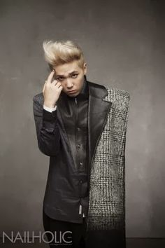 Lee Hong Ki ♡ FT ISLAND for NAILHOLIC Magazine November Issue