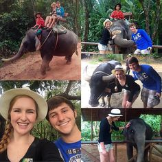 Today had to be one of the most exciting days of my life! (Aside from marrying my best friend that is!) Today I got to ride an elephant through the jungles of South Phuket and also got to hug a baby Asian Elephant (I was so excited I almost cried). Riding an elephant has been on my bucket list since I was a little kid but as someone who always has concern for the wellbeing of animals it was important for Andrew and I to pick somewhere we knew they were being treated properly. Siam Safari is…