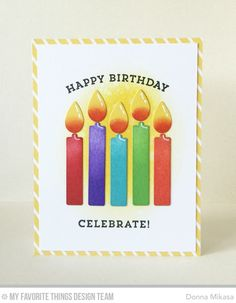 247 Best birthday candle cards images in 2019 | Homemade