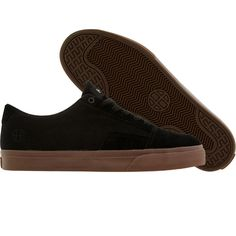 HUF Southern low shoes in black and brown