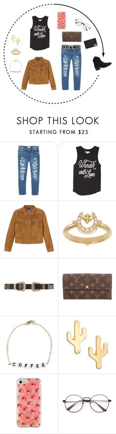 """Untitled #371"" by littlewhitedaisy ❤ liked on Polyvore featuring MANGO, Spiritual Gangster, Monki, Temple St. Clair, B-Low the Belt, Louis Vuitton, Ryan Porter and CAM"