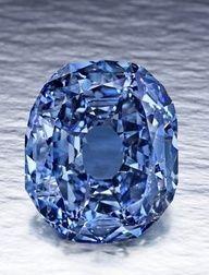 Diamante azul.