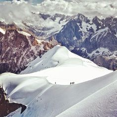 The highest mountain in Europe. Location: Mont Blanc, #France. Photo by @bu_khaled #DearEurope