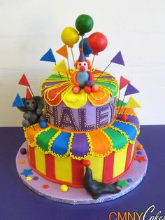 Carnival Birthday Cake