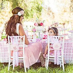 This gorgeous shabby chic tea party was quite an exclusive birthday party! It had a guest list of two: the birthday girl and her mom, Aracely. Having an elaborate tea for two was a lovely alternative to a traditional birthday party – one that was ...