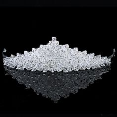 Alloy with Rhinestones and Zircons Bridal Tiara on sale at affordable prices, buy Alloy with Rhinestones and Zircons Bridal Tiara at AllensBridal.com now!